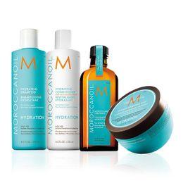 Plejepakke til normalt hår - Extra Plejeprodukter