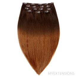 Clip In Original Hair extensions Ombre nr. 2/7