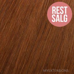 Clip on/off Original Hair extensions Kobber nr. 30