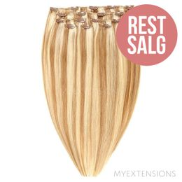 Clip on/off Original - RESTSALG Hair extensions Mix nr. 10/22