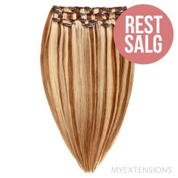 Clip on/off Original - RESTSALG Hair extensions Mix nr. 7/18