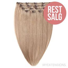 Clip on/off Original - RESTSALG Hair extensions Mørk askblond nr. 17B