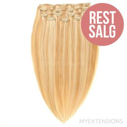 Clip on/off Original - RESTSALG Hair extensions Mix nr. 18/613