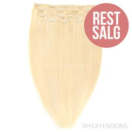 Clip on/off Original - RESTSALG Hair extensions Lys gyldenblond nr. 613
