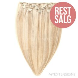 Clip on/off Original - RESTSALG Hair extensions Mix nr. 16B/60A