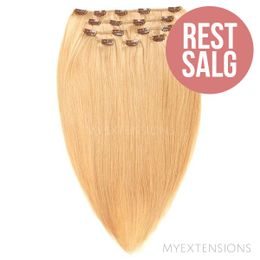 Clip on/off Original - RESTSALG Hair extensions Lys rødblond nr. 18