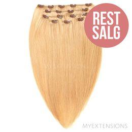 Clip on/off Original - RESTSALG Hair extensions Lys rødblond nr. 18