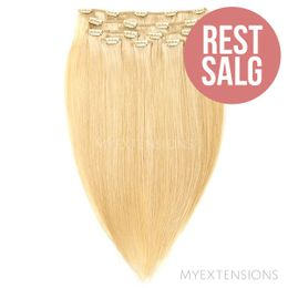 Clip on/off Original - RESTSALG Hair extensions Gyldenblond nr. 22