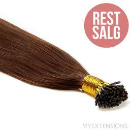 Cold fusion stick Original - RESTSALG Hair extensions Mørk kastanjebrun nr. 4