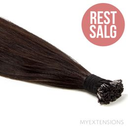 Cold fusion stick Original - RESTSALG Hair extensions Ekstra mørkbrun nr. 1B