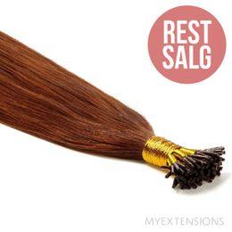 Cold fusion stick Original - RESTSALG Hair extensions Rødbrun nr. 6