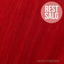 Hår trense Original Hair extensions Rød