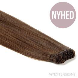 Hår trense Original Hair extensions Askbrun nr. 5B