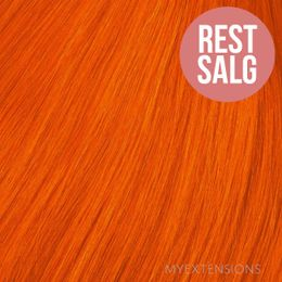 Hår trense Original Hair extensions Orange