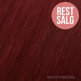 Hår trense Original Hair extensions Vin rød nr. 530