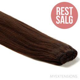 Hår trense Original - RESTSALG Hair extensions Mørkbrun nr. 2