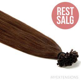 Hot fusion Original - RESTSALG Hair extensions Mørk naturbrun nr. 3