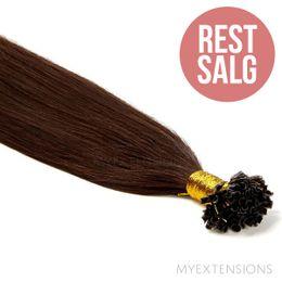 Hot fusion Original - RESTSALG Hair extensions Mørkbrun nr. 2
