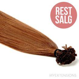 Hot fusion Original - RESTSALG Hair extensions Lys rødbrun nr. 7