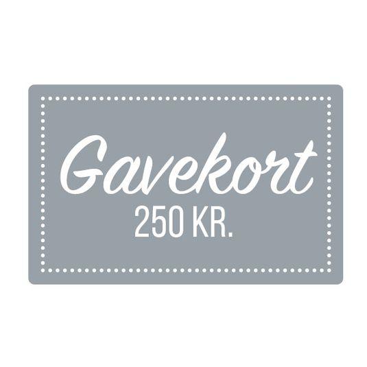 Gavekort 250 kr