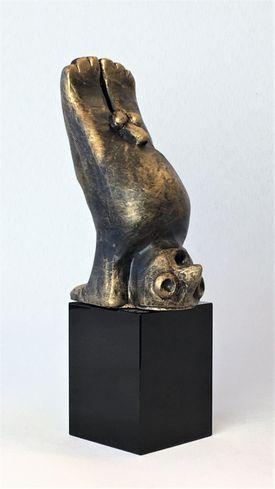 Den kreative - bronze patineret Bronze