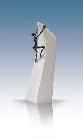 Bronzeskulptur - Alt er muligt  - Luise Kött-Gärtner