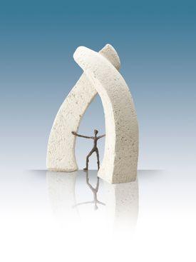 Bronzeskulptur - Nye dimensioner - Luise Kött-Gärtner