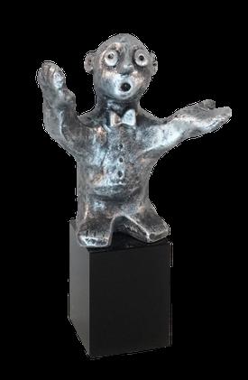 Den alsidige - tin patineret Bronze