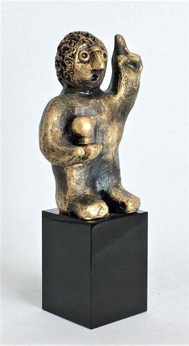 Den innovative - bronze patineret Bronze
