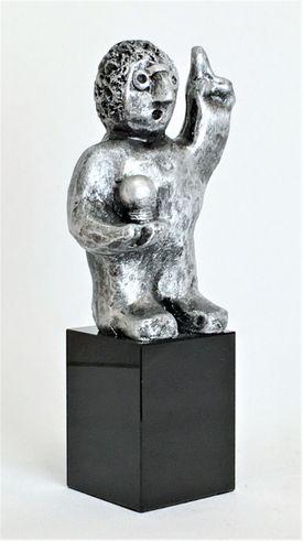 Den innovative - tin patineret Bronze
