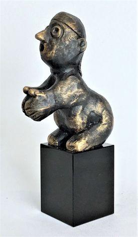 Den kunstneriske - bronzepatineret Bronze
