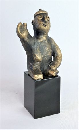 Den visionære - bronze patineret Bronze