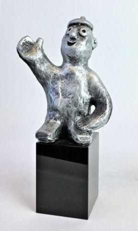Den visionære - tin patineret Bronze
