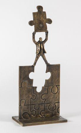 Skulptur - Final touch - Bronze - Saga Jon