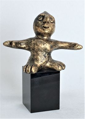Den harmoniske - bronze patineret Bronze