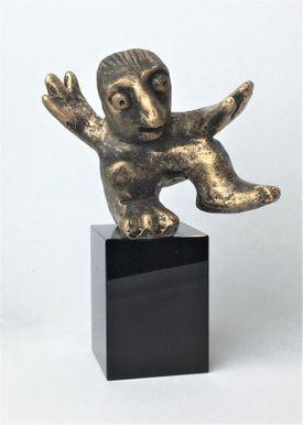 Humørsprederen - bronze patineret Bronze