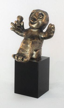 Livsnyderen - bronze patineret Bronze