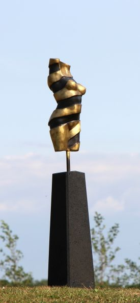 Bronzeskulptur - Turning Torso III - PM