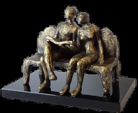 Tosomhed - bronzepatineret