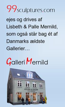 99sculptures ejes og drives af Lisbeth og Palle Mernild. En 100% danskejet webshop fuld af skulpturer.