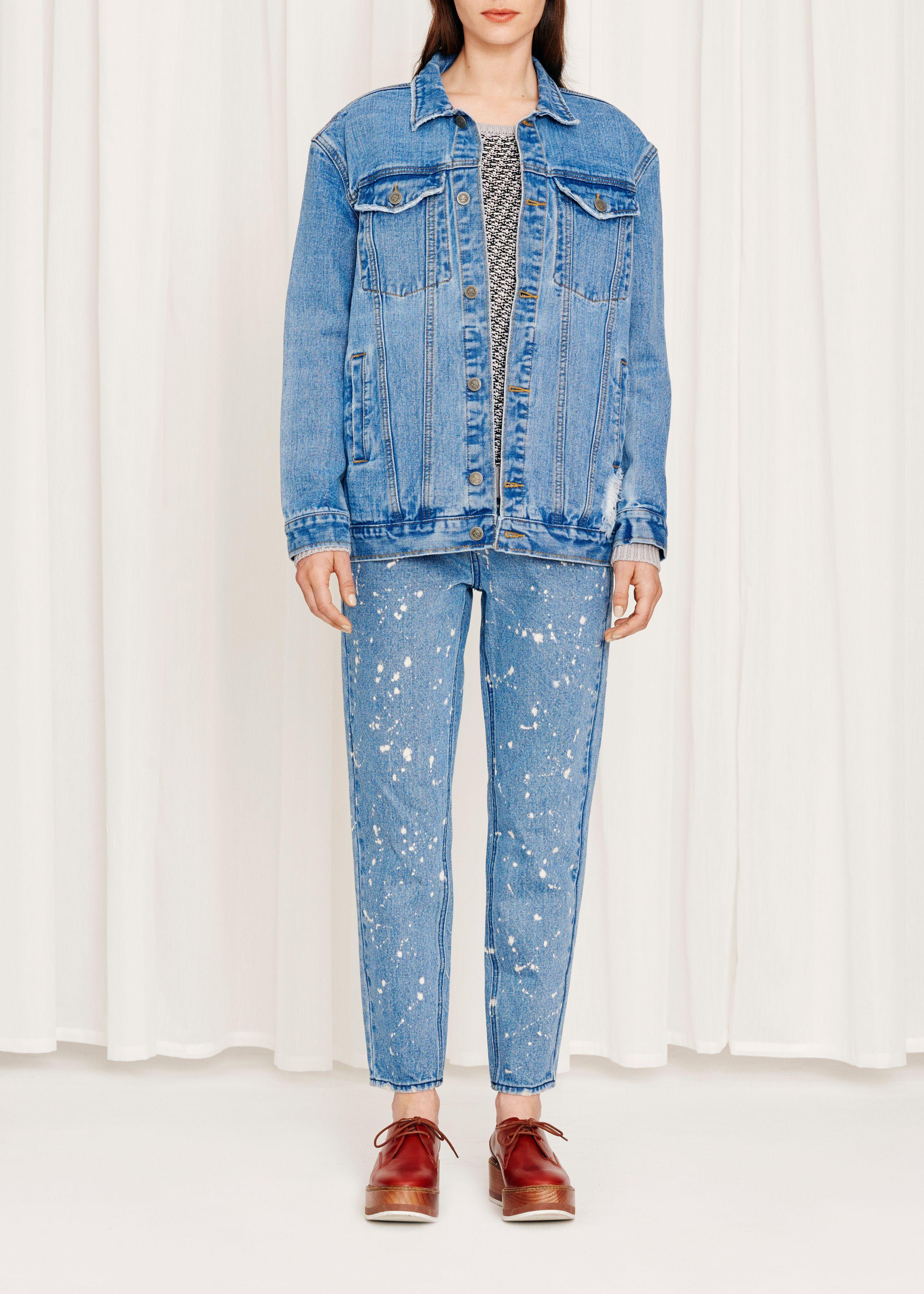 Lila Vintage Destroy Jacket from Modström  Shop Online at modstrom.com