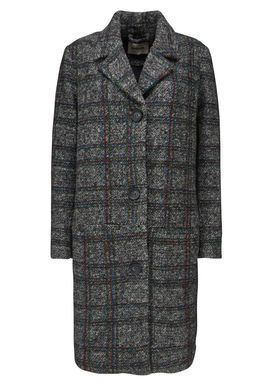Brooklyn check coat -  - Modström