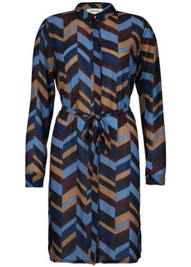Clive print dress -  - Modström