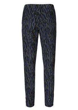 Dandy print pants -  - Modström