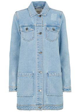 Edmund vintage blue jacket -  - Modström