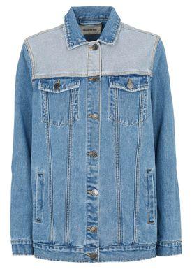 Elroy bleach jacket -  - Modström