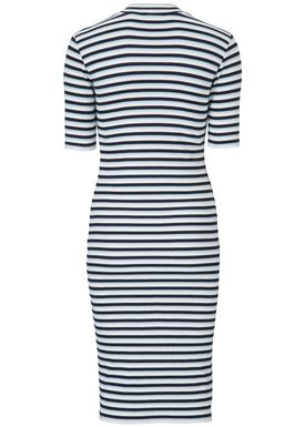 Krown stripe t-shirt dress - Kjole - Modström