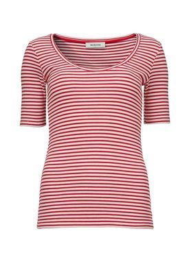 Krown stripe SS t-shirt -  - Modström