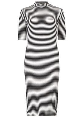 Krown stripe t-shirt dress -  - Modström