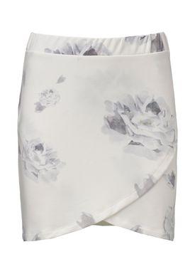 Tavia Flower White - Nederdel - Modström